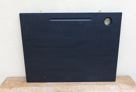 Old School Desk blackboard £10