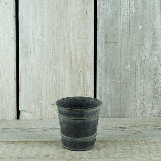 Zinc Pot £2 each