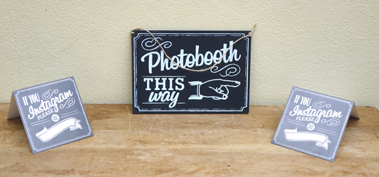 Photobooth & Instagram £1