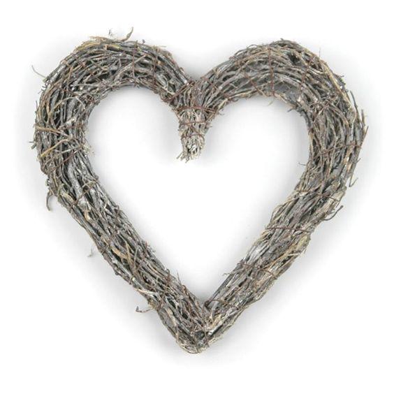 Woven Heart (X4) £3.50
