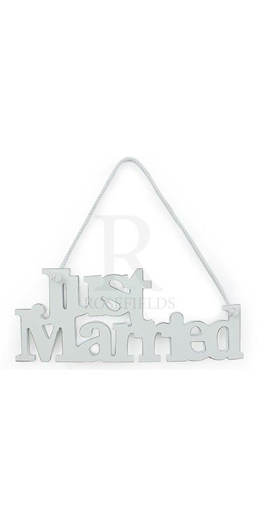 Wooden Just Married Sign (x2) £2.50