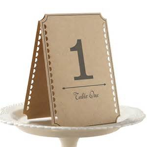 Card Table Number 1 - 12 £1