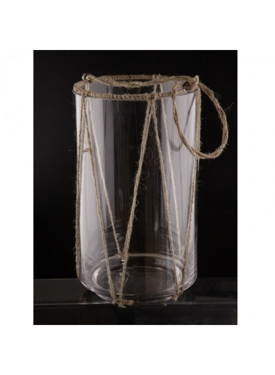 Glass Hurricane Lantern £3