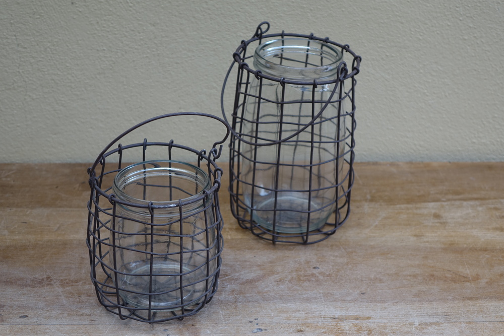 Wirework Lanterns £5 for pair