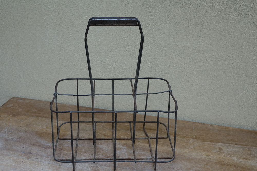 Vintage French Bottle Carrier £4