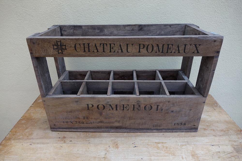 Wine crate - £6