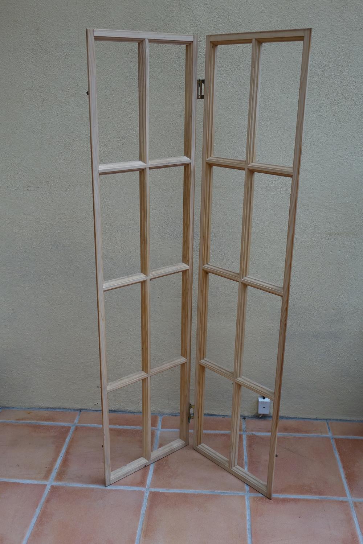 Pair of Wooden Window Frames £10