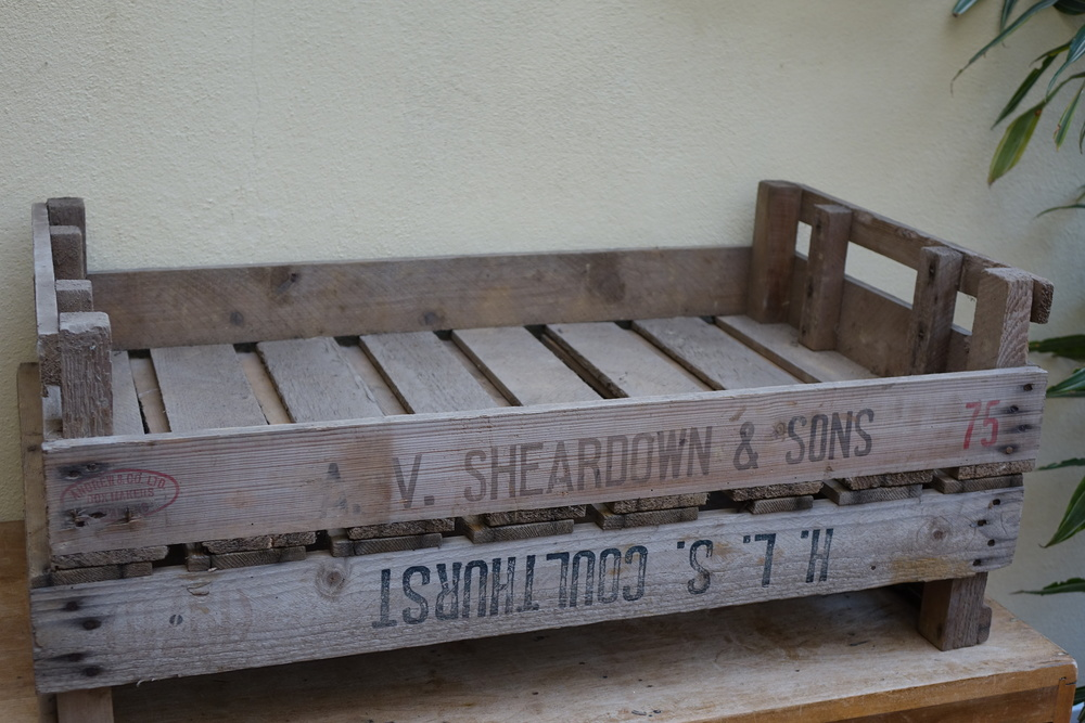 Vintage Vegetable Crates £3