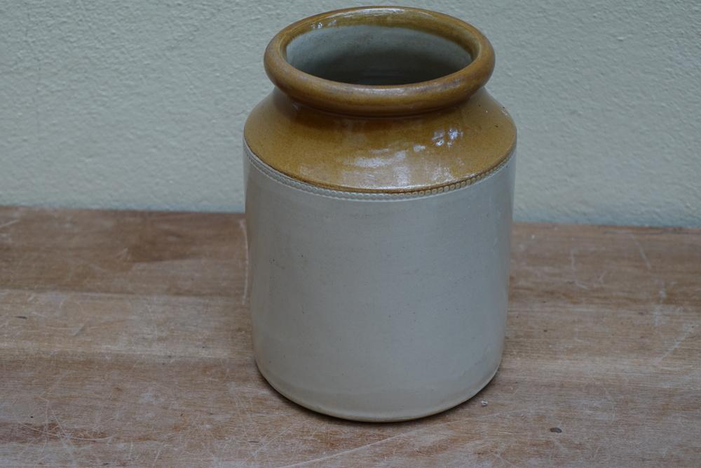 Vintage Stoneware jars