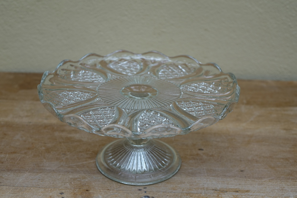 Various Glass Cake Stand £3