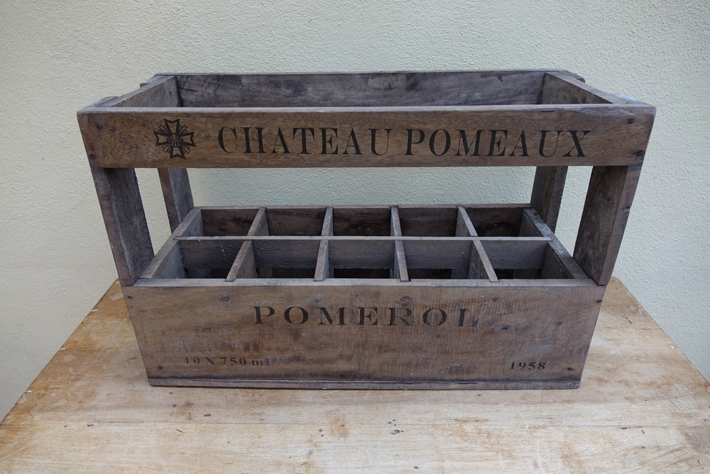 Vintage French Wine Box