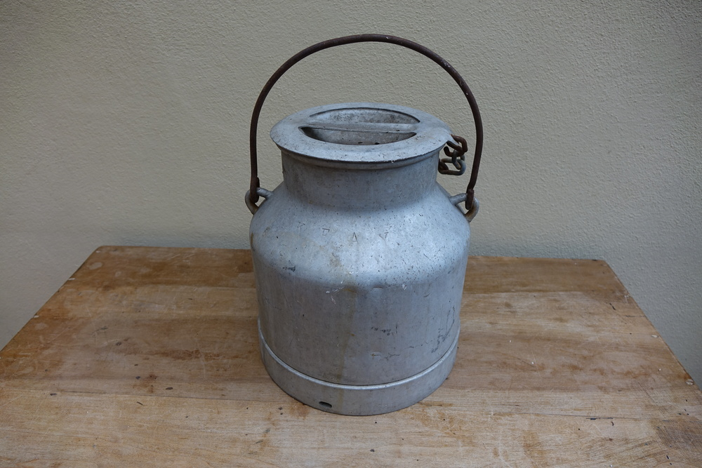 Vintage French Medium Milk Churn