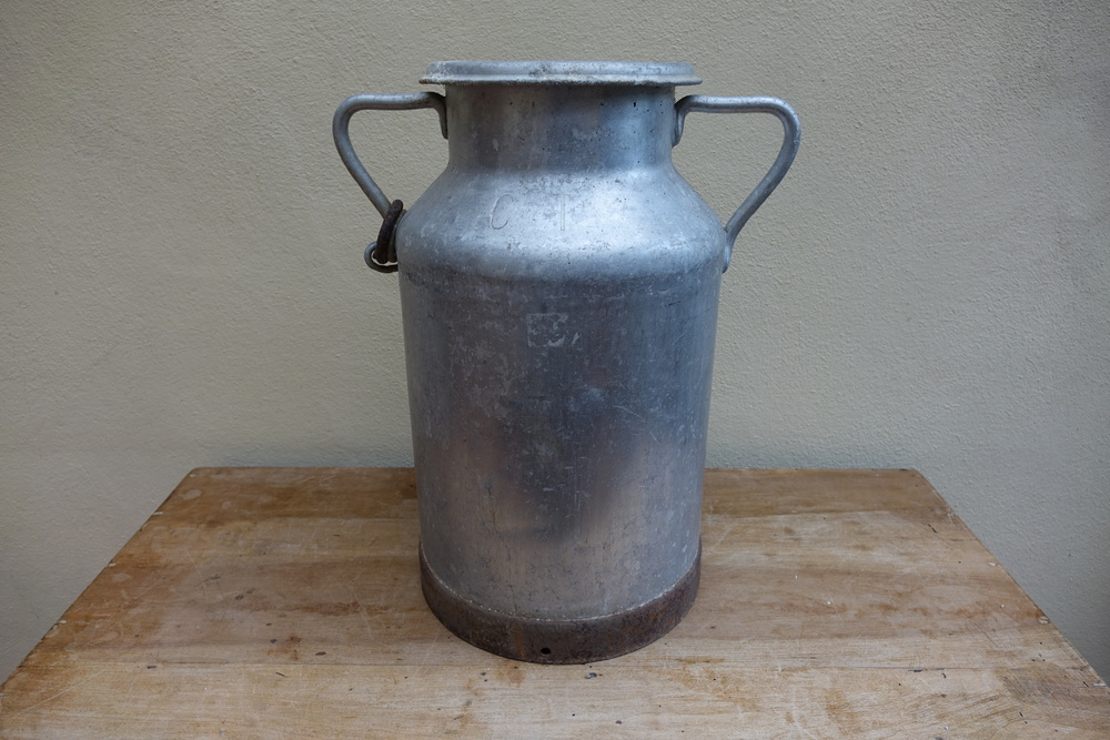 Vintage French Large Milk Churn