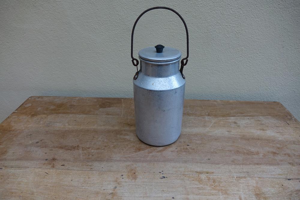 Vintage French Milk Churn £7.50