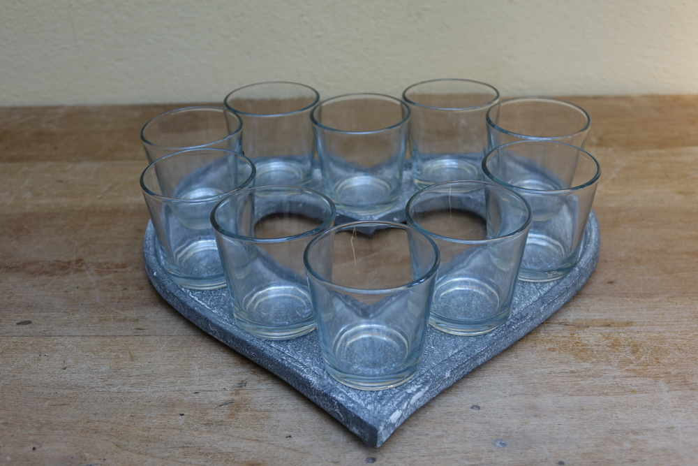 Heart Tealight Holder £5