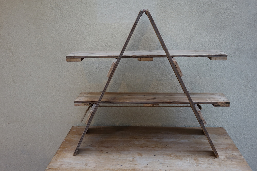 Wooden A Frame Stand £10