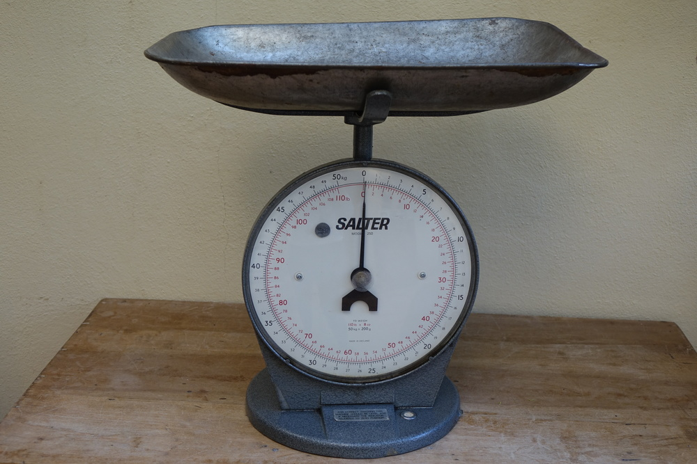 Vintage Large Post Office Scales £5