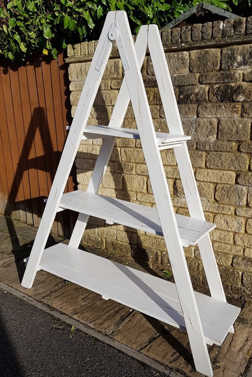 Vintage A Frame with 3 shelves - £40