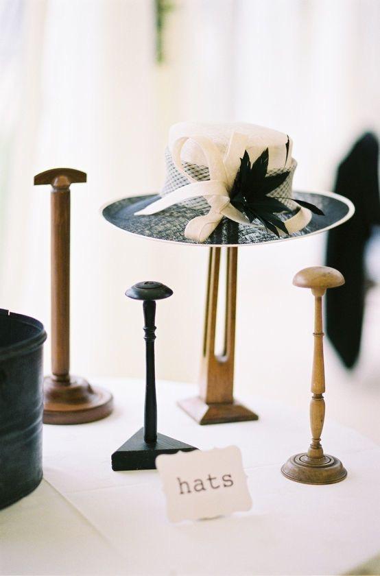 Vintage Hat Stands - £8