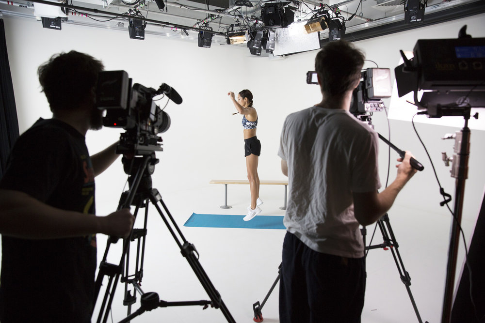 Behind The Scenes - Kayla Itsines for Self Magazine