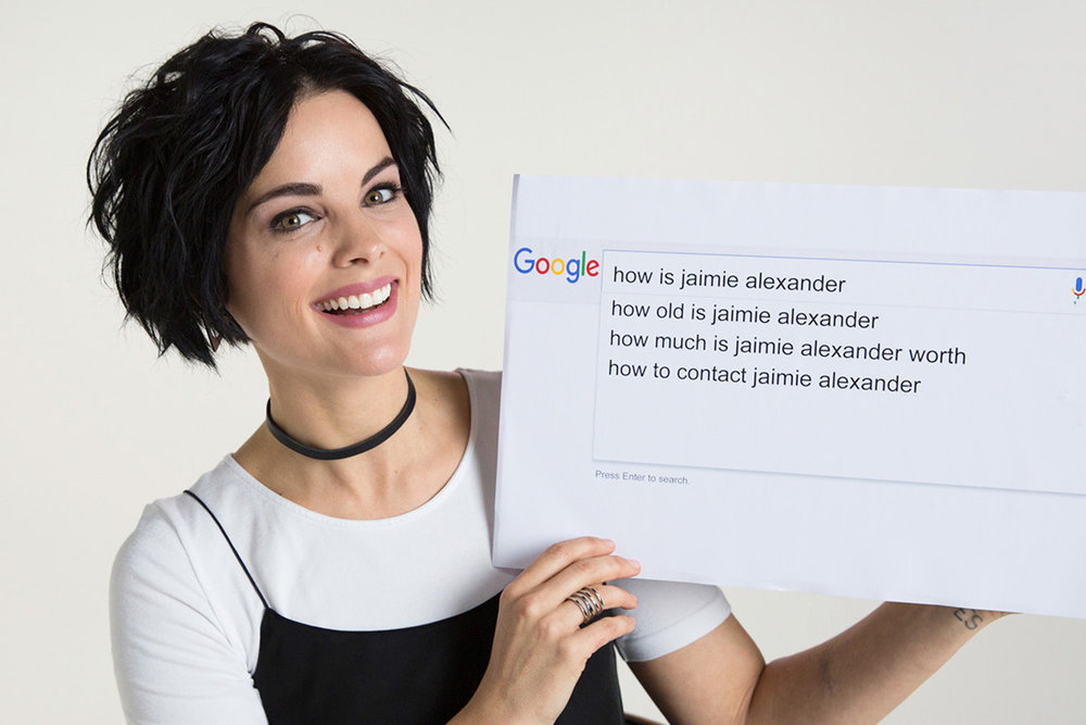 Jamie Alexander for Wired Video - Google Autocomplete
