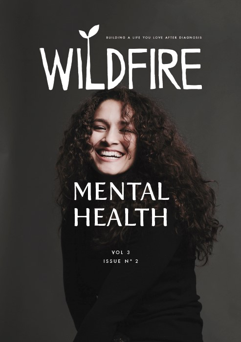 MENTAL HEALTH - Vol 3, No 2. Apr/May 2018   Cover: Singer/songwriter Bianca Muñiz Value by Melissa Swadley Allbritten | Combating Post-Cancer Depression by Anna Crollman | My Time With the Dangerous Ones by Dianne Russell Wraight | Brave Face: A Photo Story by Bianca Muniz | Permission to Grieve (Your Breasts) by Kim Harms | The Trauma of it All by Megan-Claire Chase | Your Illness Makes Me Uncomfortable: An Illustrated Story by Cancer Confessions | Cancer Famous: An Anonymous Guide | Rising From the Ashes: Introducing Beautiful Self | Living with MBC: An Interview with Rebecca Hall DicksonPLUS: Reader Stories | Breath of Fresh Air: Yoga | You Can Begin Again At Any Time: Nutrition | Mellow Kudzu Elixir: Recipe |  Writing Prompt: Bite-Size Pieces