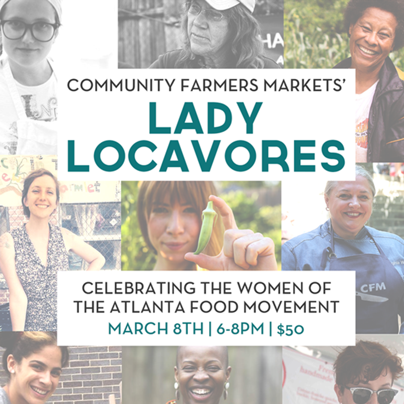 Lady Locavores - Rutu is part of the host committee for Lady Locavores and invites you to join her in honor of the amazing women chefs, farmers, and artisans in our community for International Women's day on March 8th. Funds raised from this event will be directed towards CFMs culinary education program.