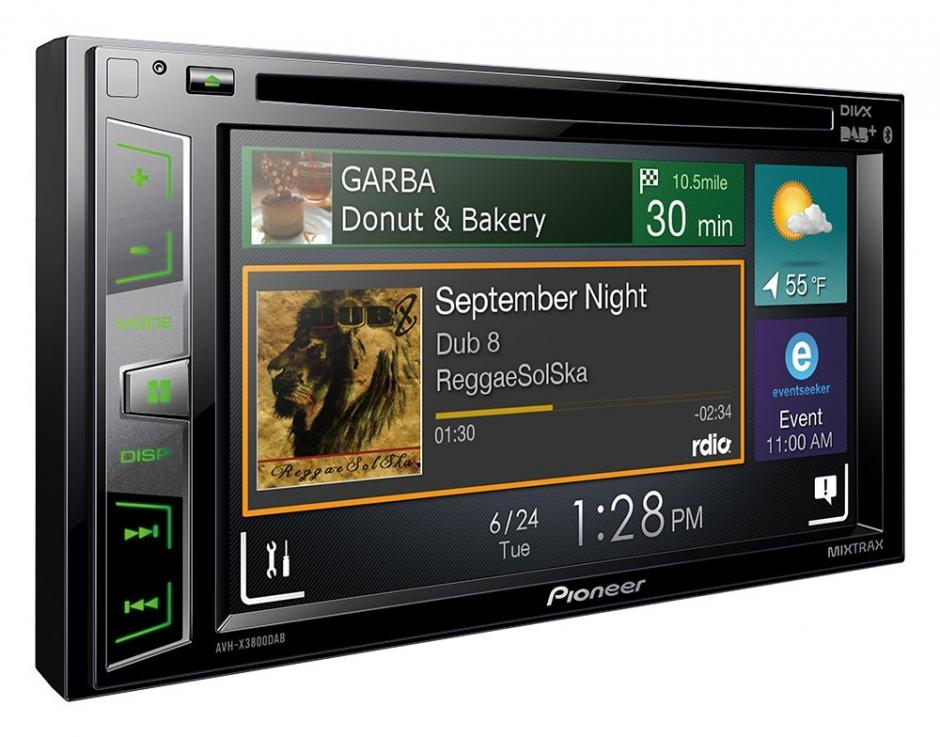 Pioneer AvH-x3800DAB Android Car Stereo