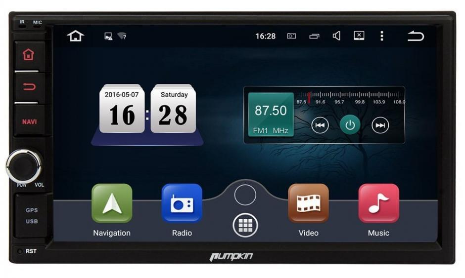 Pumpkin Media Receiver Android Car Stereo