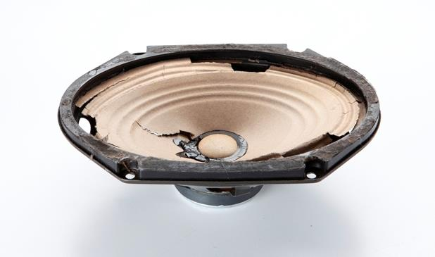 Your factory speaker could look something like this (Crutchfield Research Photo)