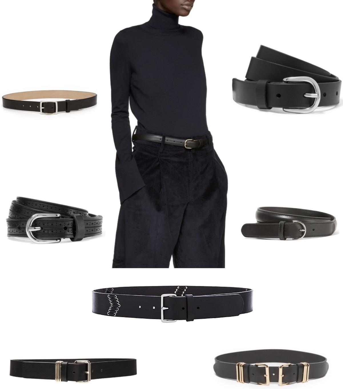a112a565357a20 ACCESSORIES EDIT    Favorite Black Belts