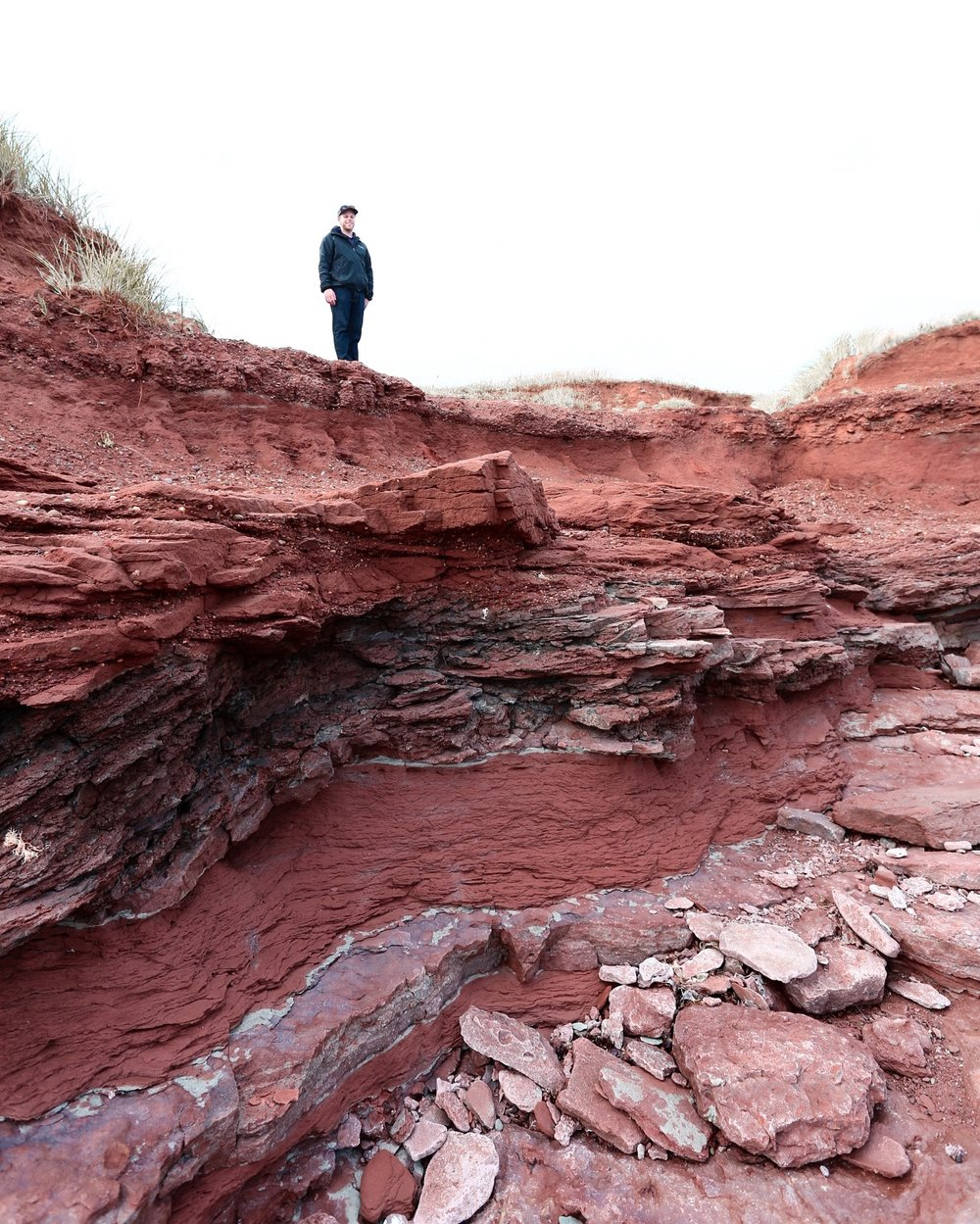 Red Dirt Cliffs @ North Cape
