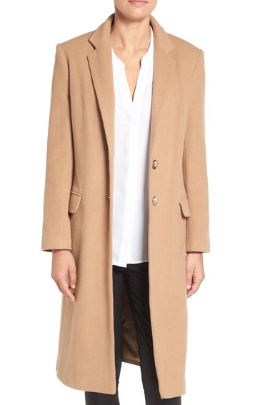 Charles Gray London Wool Blend College Coat