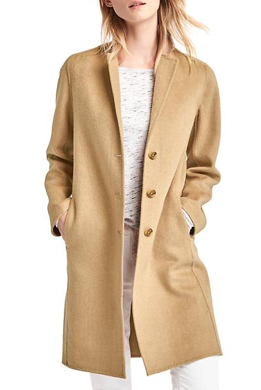 Gap WOOL-BLEND CAR COAT