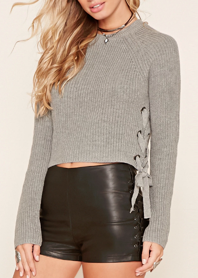 Forever 21 Sweater Crop Top