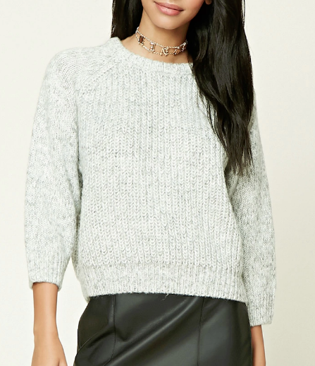 Forever 21 Boxy Ribbed Sweater