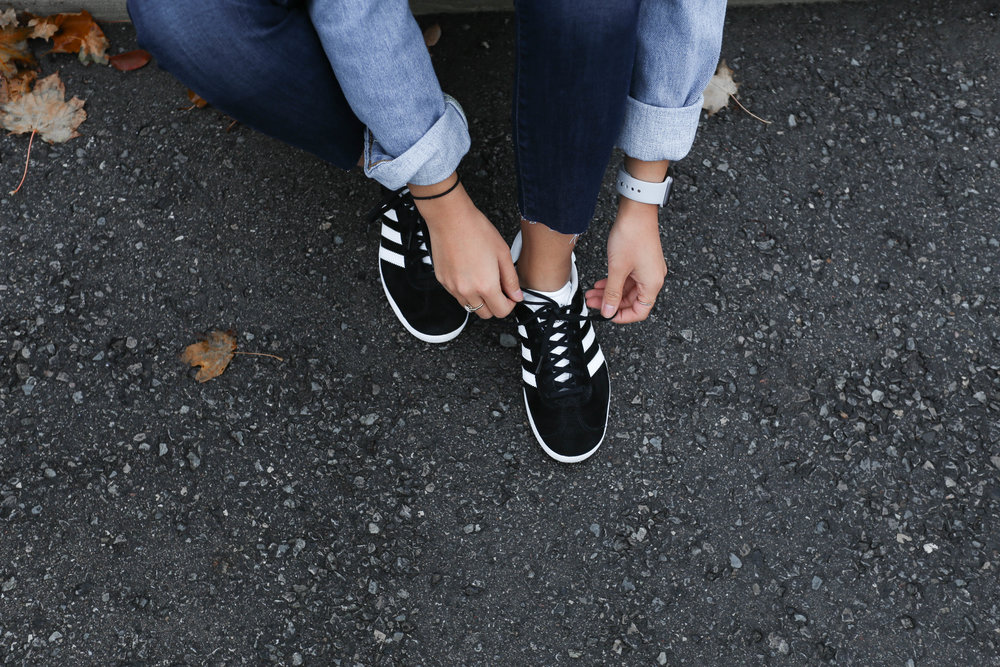 Jacket - LEVI'S | Shoes - ADIDAS || All available @  NEON Stores