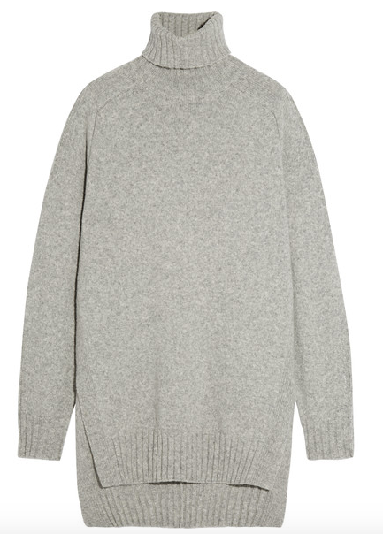 FERGUS OVERSIZED WOOL-BLEND TURTLENECK SWEATER