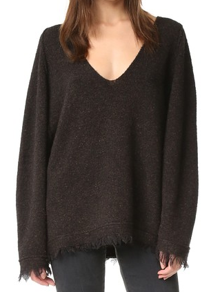 IRRESISTIBLE V NECK SWEATER