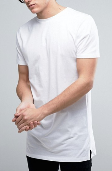 MENS ASOS WHITE T