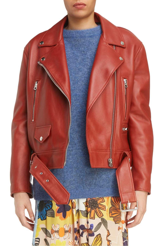 Merlyn Leather Moto Jacket