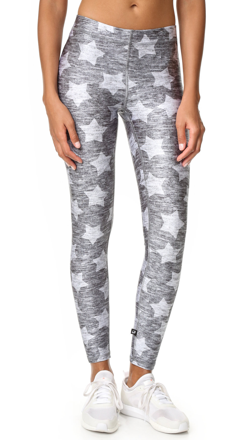 terez heathered star leggings