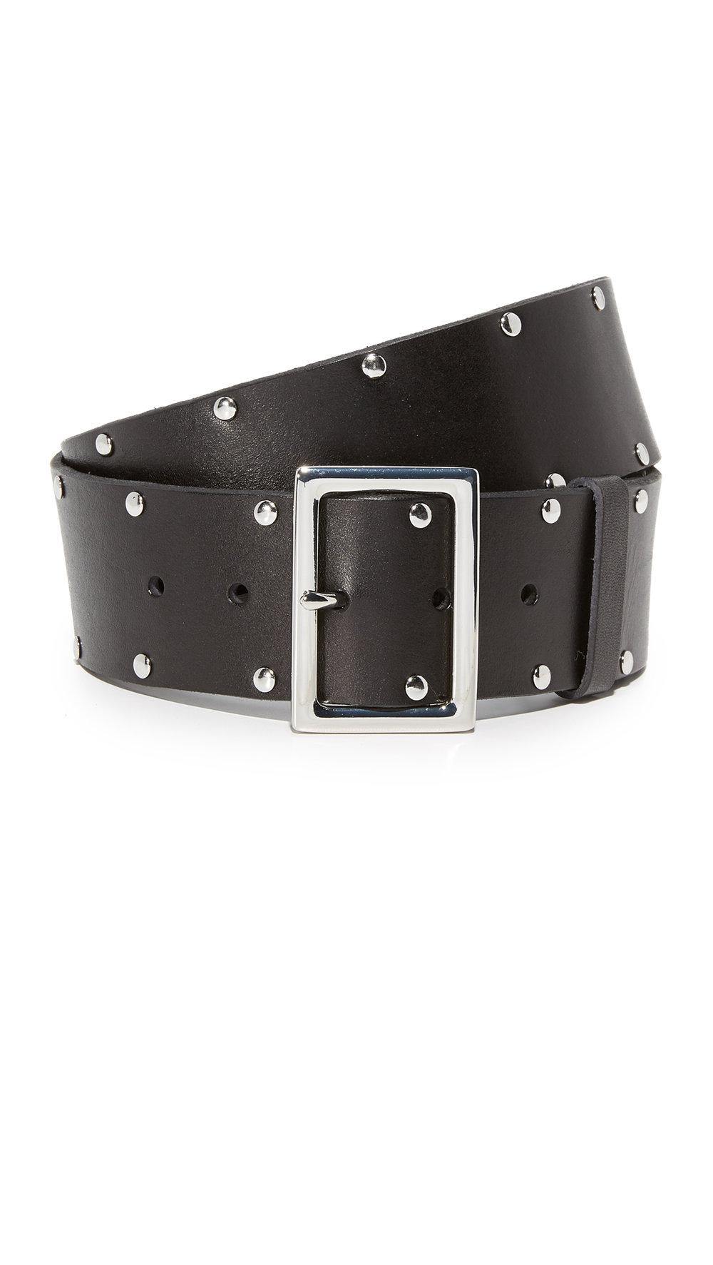Frame Studded Belt