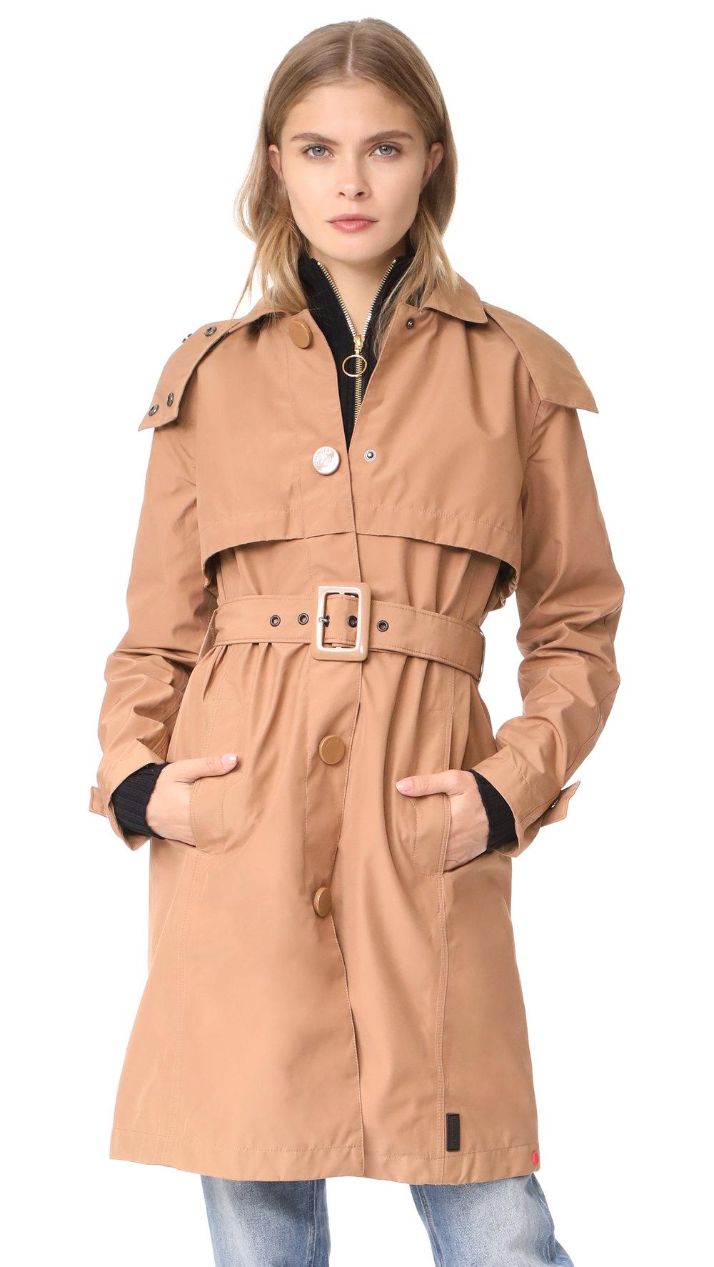 hunter trench coat