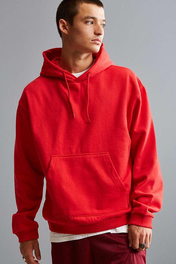 uo red hoodie