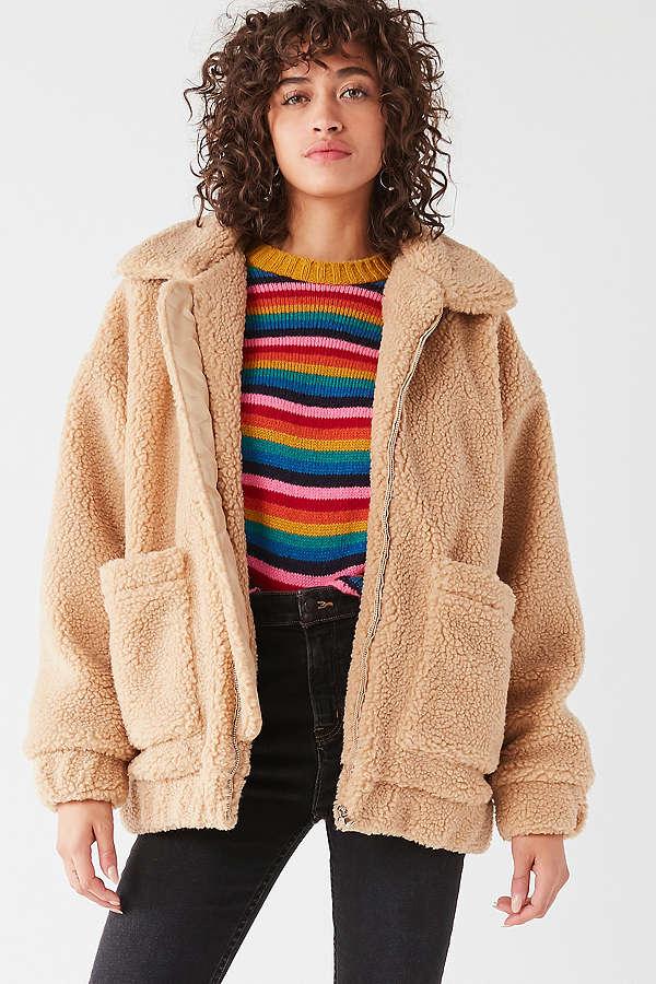iamgia teddy coat