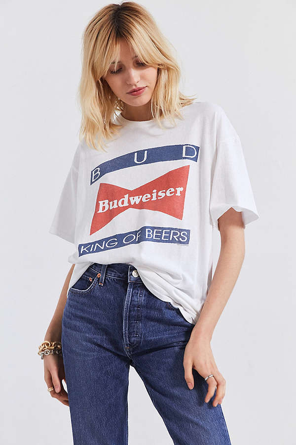 budweiser tshirt