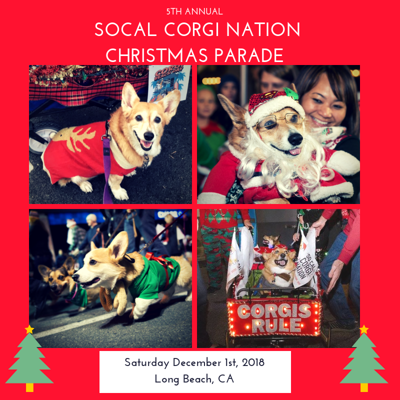 Long Beach Christmas Parade 2020 5th Annual Corgi Christmas Parade! — So Cal Corgi Nation