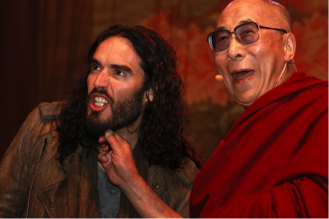 Russell Brand and the Dalai Lama! What a duo.