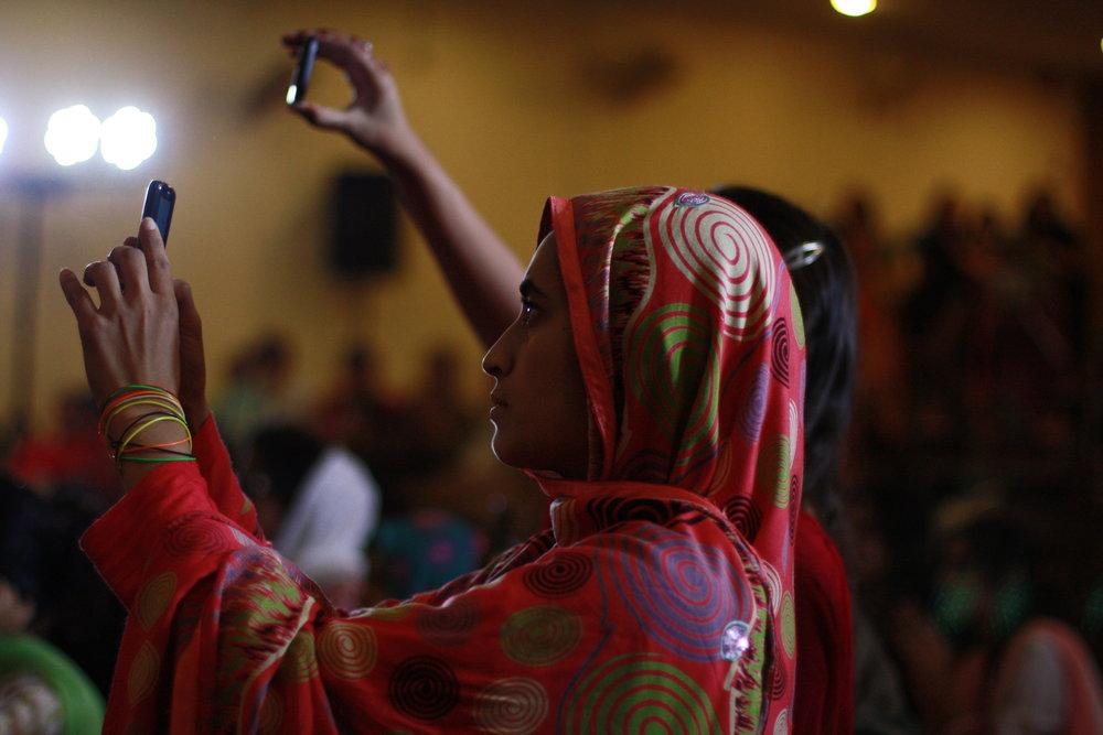 Pakistan - Della Mae concert FJWU.JPG